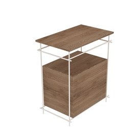 Sketch 62 cm bathroom furniture with one drawer