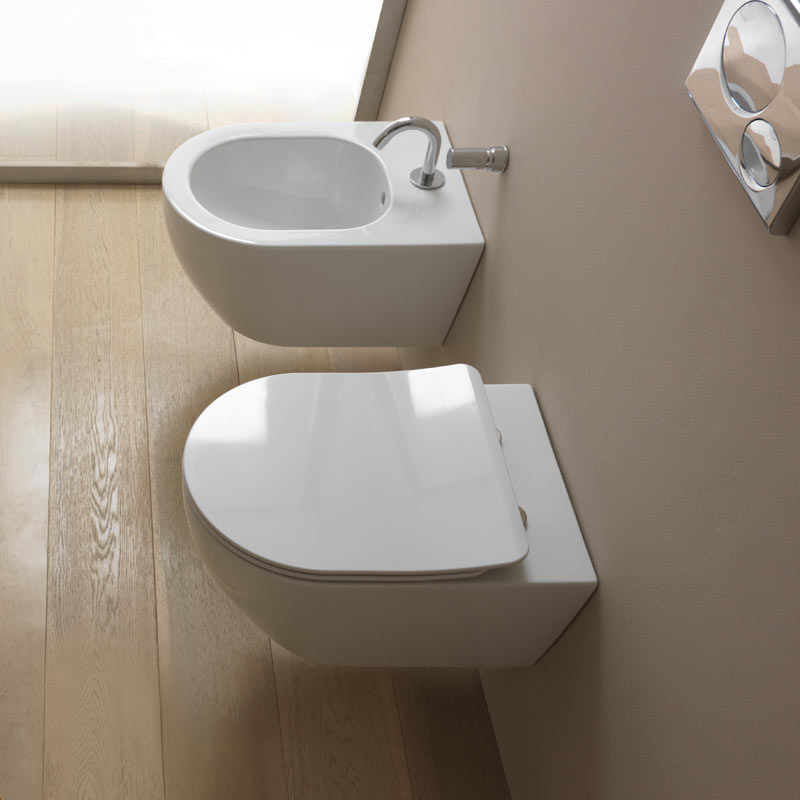 Wall hung wc bidet